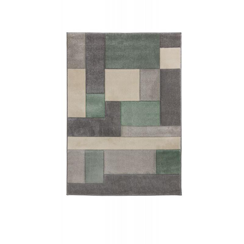 Kusový koberec Hand Carved Cosmos Mint/Grey/Cream
