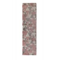 Kusový koberec Dakari Nuru Pink/Cream/Grey