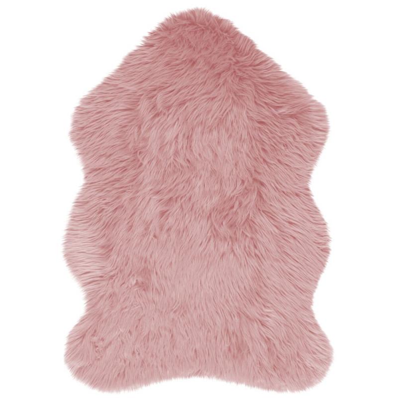 Kusový koberec Faux Fur Sheepskin Pink