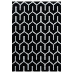 Kusový koberec Costa 3524 black
