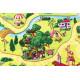 Dětský metrážový koberec Pohádková vesnice