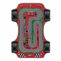 Dětský kusový koberec Play 2907 red