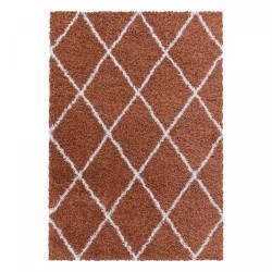 Kusový koberec Alvor Shaggy 3401 terra