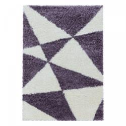 Kusový koberec Tango Shaggy 3101 lila