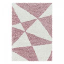 Kusový koberec Tango Shaggy 3101 rose