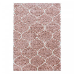 Kusový koberec Salsa Shaggy 3201 rose