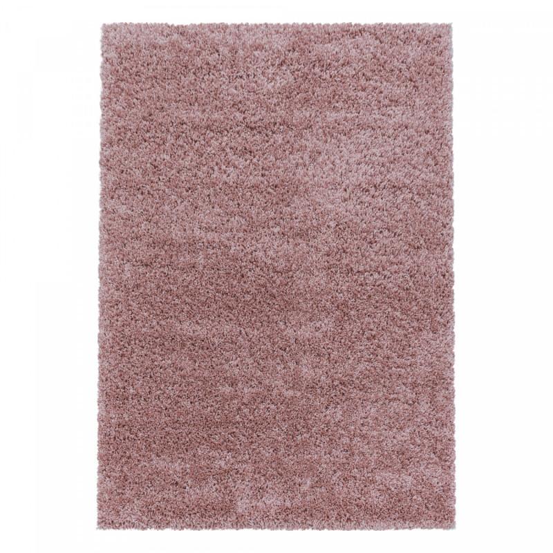 Kusový koberec Sydney Shaggy 3000 rose