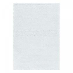 Kusový koberec Fluffy Shaggy 3500 white