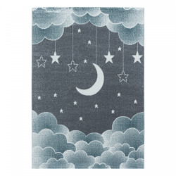 Dětský kusový koberec Funny 2101 blue
