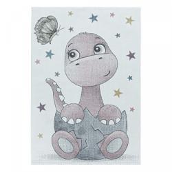 Dětský kusový koberec Funny 2106 pink