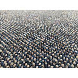 Metrážový koberec Porto modrý
