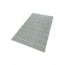 Kusový koberec GLORIA Pattern Blau Creme