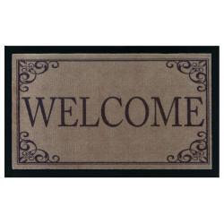 AKCE: 45x75 cm Protiskluzová rohožka Mujkoberec Original 104510 Brown