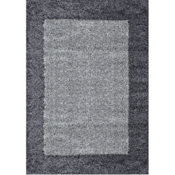 AKCE: 80x150 cm Kusový koberec Life Shaggy 1503 grey