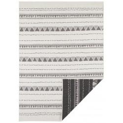 AKCE: 80x250 cm Kusový koberec Twin Supreme 103755 Black/Cream