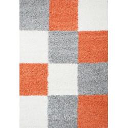 AKCE: 80x250 cm Kusový koberec Life Shaggy 1501 terra
