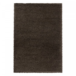 AKCE: 80x250 cm Kusový koberec Fluffy Shaggy 3500 brown