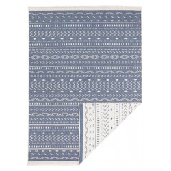 AKCE: 80x150 cm Kusový koberec Twin Supreme 103439 Kuba blue creme