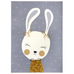 AKCE: 80x150 cm Dětský koberec Adventures 104525 Grey