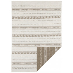 AKCE: 80x350 cm Kusový koberec Twin Supreme 103756 Brown/Cream