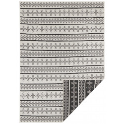 AKCE: 80x150 cm Kusový koberec Twin Supreme 103761 Black/Cream
