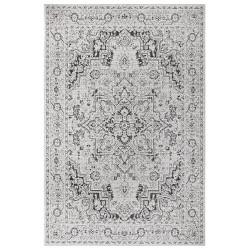 Kusový orientální koberec Flatweave 104806 Cream/Black