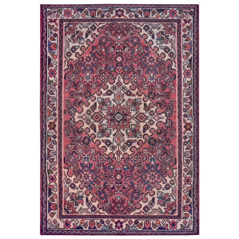 AKCE: 80x200 cm Kusový koberec Asmar 104898 Cream Red
