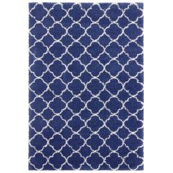 AKCE: 80x150 cm Kusový koberec Grace 104406 Blue/Cream