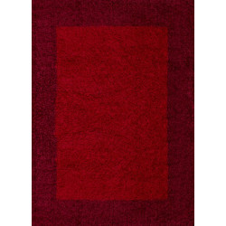 AKCE: 120x170 cm Kusový koberec Life Shaggy 1503 red