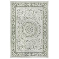 Kusový orientální koberec Flatweave 104813 Cream/Green