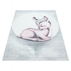 AKCE: 120x170 cm Dětský kusový koberec Bambi 850 pink