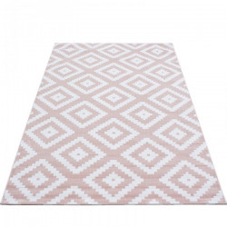 AKCE: 120x170 cm Kusový koberec Plus 8005 pink