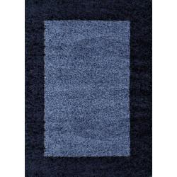 AKCE: 100x200 cm Kusový koberec Life Shaggy 1503 navy