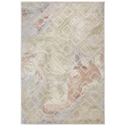 AKCE: 120x170 cm Kusový koberec Creative 103973 Silvergrey/Multicolor z kolekce Elle