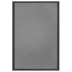 AKCE: 120x170 cm Kusový koberec Flatweave 104822 Black/Grey
