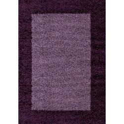 AKCE: 80x150 cm Kusový koberec Life Shaggy 1503 lila