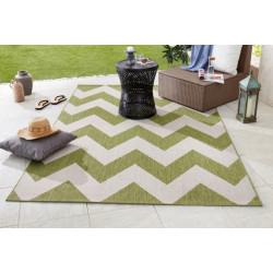AKCE: 120x170 cm Kusový koberec Meadow 102736 grün/beige