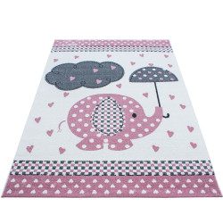 AKCE: 160x230 cm Dětský kusový koberec Kids 570 pink