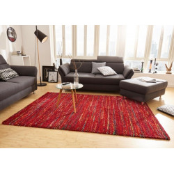 AKCE: 120x170 cm Kusový koberec Nomadic 102688 Meliert Rot