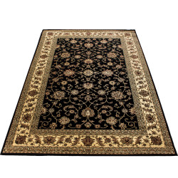 AKCE: 160x230 cm Kusový koberec Marrakesh 210 black