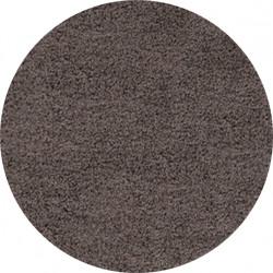 AKCE: 80x80 (průměr) kruh cm Kusový koberec Life Shaggy 1500 taupe kruh