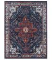 AKCE: 160x230 cm Kusový koberec Lugar 104091 Midnight Blue