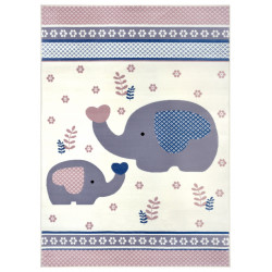 AKCE: 160x220 cm Dětský koberec Adventures 104559 Cream/pastelcolors