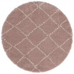 AKCE: 160x160 (průměr) kruh cm Kusový koberec Allure 102750 Rose/Cream