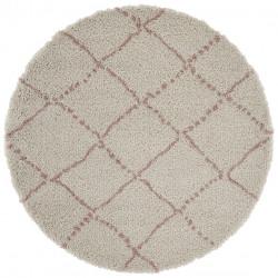 AKCE: 160x160 (průměr) kruh cm Kusový koberec Allure 102749 Cream/Rose