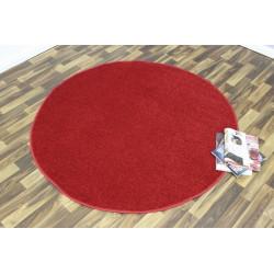 AKCE: 200x200 (průměr) kruh cm Kusový koberec Nasty 101151 Rot kruh