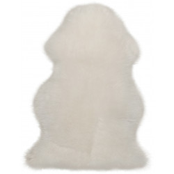 AKCE: 55x85 tvar kožešiny cm Kusový koberec Premium Sheep 100 Ivory