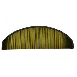 AKCE: 24x65 půlkruh cm Nášlapy na schody zelená Carnaby půlkruh