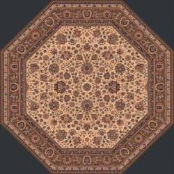 AKCE: 170x170 cm osmiúhelník cm Kusový koberec Royal 1516-504 osmiúhelník