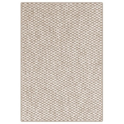 Kusový koberec Nature světle béžový